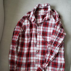 Gap plaid button up
